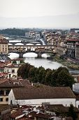 Bridges Over The River Arno