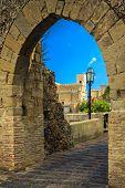 St.nicolo Church Through The Old Arch