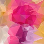 Vector Polygonal Background With Irregular Tessellations Pattern