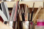 Tools In Nail Studio