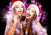 image of karaoke  - Christmas party - JPG