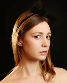 Fashion studio portrait