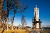 Memorial monument in Kiev, Ukraine