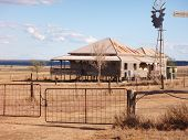 Old house, outback Queensland Australia