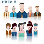 Office Team Business Concept