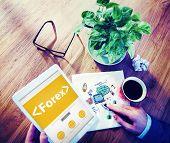 Forex Exchange Trade Change Barter Concepts