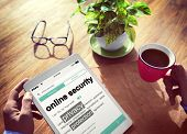 pic of spyware  - Digital Online Security Protection Searching Concept - JPG