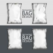 pic of packing  - White Blank Foil Food Snack pack For Chips - JPG