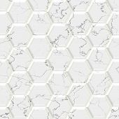 pic of stone floor  - Marble hexagon seamless texture optimal use for background floor decorative stone and interior stone - JPG