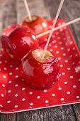 foto of toffee  - toffee apple - JPG