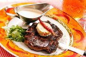 image of butter-lettuce  - Beef Steak with Butter - JPG