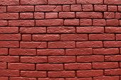 picture of tile cladding  - Brick wall background horizontal stone wall texture - JPG