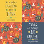 pic of pranayama  - Yoga background with yogic quotes - JPG