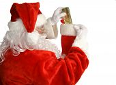 Santa Stuffs Stocking