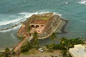 stock photo of san juan puerto rico  - Fortin de San Geronimo de Boqueron  - JPG