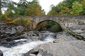 Bridge Over Dochart Falls