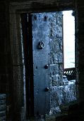 Schloss Tür