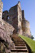 Постер, плакат: Dirleton замок Восточный Лотиан Шотландия была основана как средневековая крепость семьи aro де во
