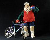Santa The Biker