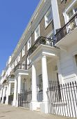 image of knightsbridge  - Typical Mansion blocks in West London UK - JPG