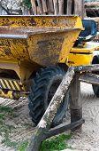Big Yellow Consturction Machine