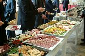 stock photo of buffet catering  - Catering food  - JPG