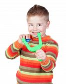 Adorable Child With A Slingshot