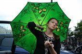 A Green Umbrella