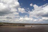 Kanuten am Tölt Pier und Strand