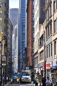 Nassau Street in Lower Manhattan