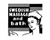 image of swedish sauna  - Swedish Massage And Bath  - JPG