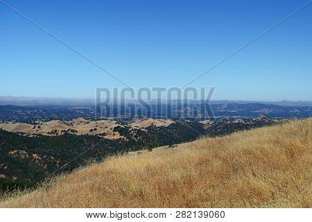 Beautiful Landscape In Mount Diablo