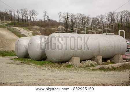 Three Cisterns In The Street