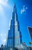 DUBAI, UAE. - NOVEMBER 29 : Burj Dubai - tallest building in the world, at 828m. on November 29, 201