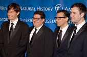 NEW YORK - NOV 10: Bill Hader, Bobby Moynihan, Fred Armisen, and Taran Killam attend the American Museum of Natural History's  2011 Gala on November 10, 2011 in New York City, NY.