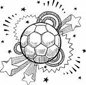Soccer excitement