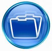 Folder Icon Blue