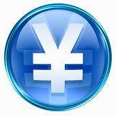 Yen Icon Blue
