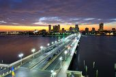 Skyline of St. Petersburg, Florida from the Pier.