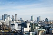 Warsaw City Panorama