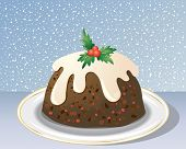 Decorative Christmas Pudding