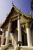 The Golden Temple In Ayudhaya