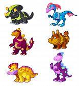Dino vector set