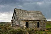 Ghost House Stormy Skies