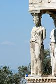 Caryatid And Nature