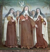Bl. Anne of Jesus, Saint Teresa of Avila and Bl. Anne of St. Bartholomew, Saints, The Church Stella