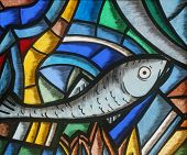 Fish - Icthus, ancient Christian symbol