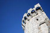 Stone fort in Korcula, Croatia