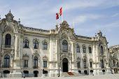 Palacio presidencial de Lima Perú