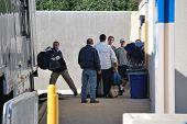 Penn State Unload Equipment